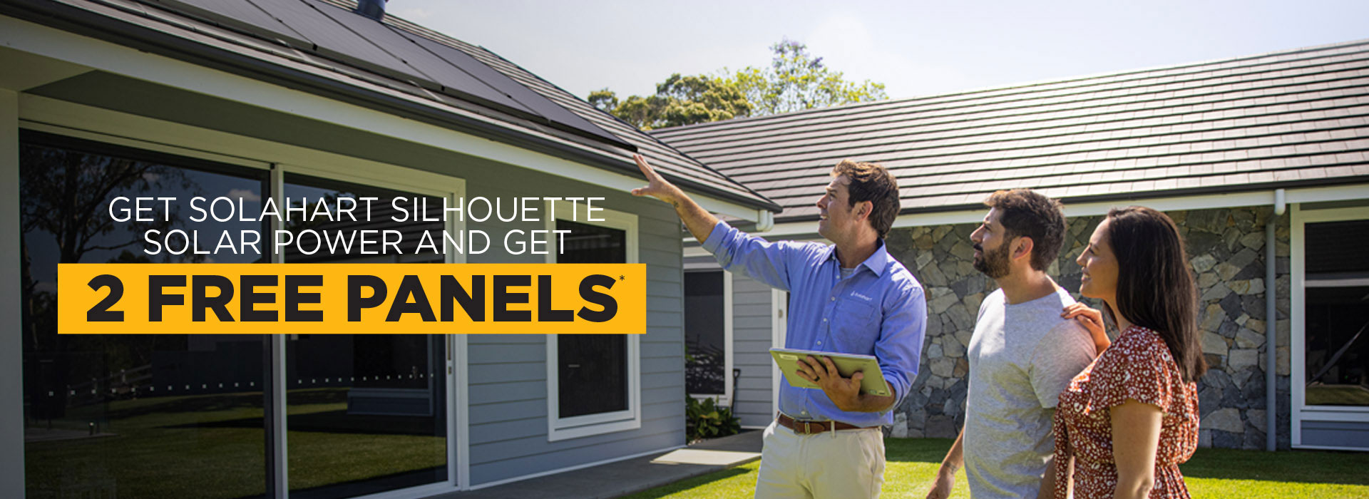 Get Solahart Silhouette Solar Power and Get 2 Free Solar Panels*